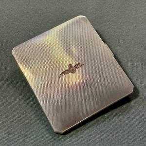 RAF Silver Cigarette Case