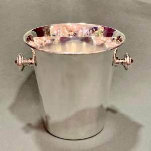 Asprey Silver Plated Wine Cooler Bucket