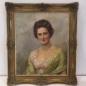 Fortunino Matania RI 20th Century Oil Painting Portrait