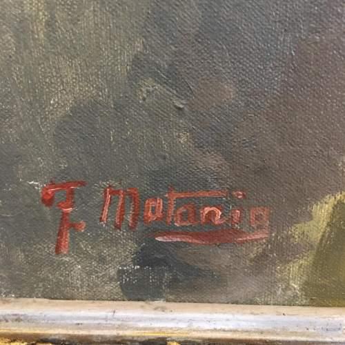 Fortunino Matania RI 20th Century Oil Painting Portrait image-3