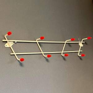 1950s Atomic Two Tier Coat Hooks