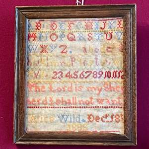 Victorian Sampler by Alice Wild