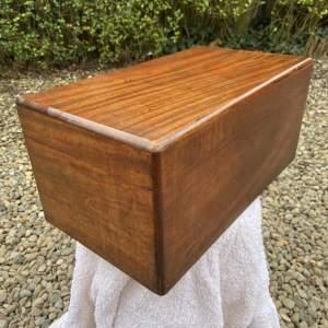 Small Camphor Wood Lined Box