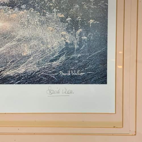 Limited Edition David Waller Print of a Labrador and Pheasant image-4
