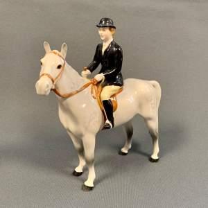 Beswick Huntswoman on Horseback