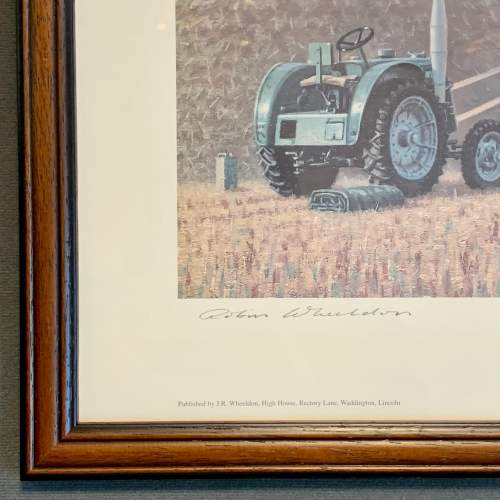 Late 20th Century Robin Wheeldon Marshall Threshing Set Print image-5