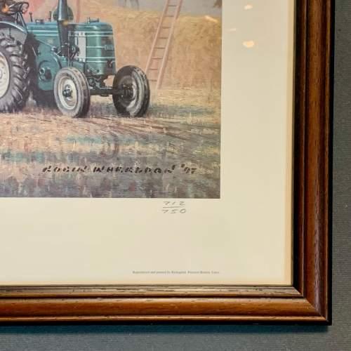 Late 20th Century Robin Wheeldon Marshall Threshing Set Print image-6