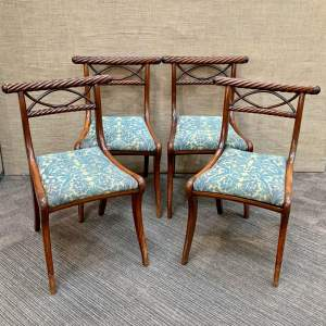 Set of Four Early 19th Century Dining Chairs