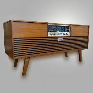 1970s Ferguson Stereogram Upgraded With Bluetooth and Record Deck