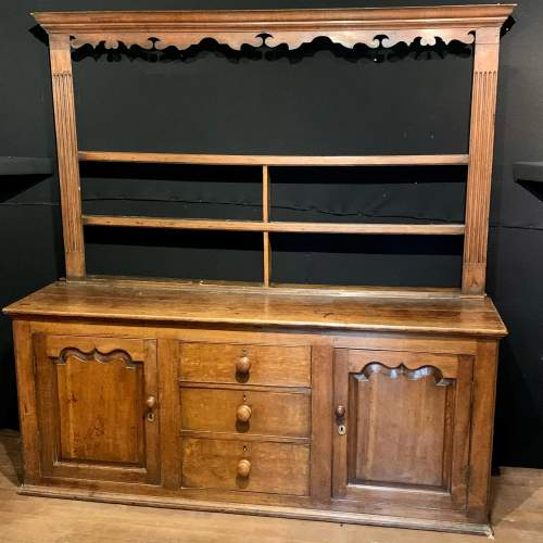 Late 18th Century English Oak Dresser image-1