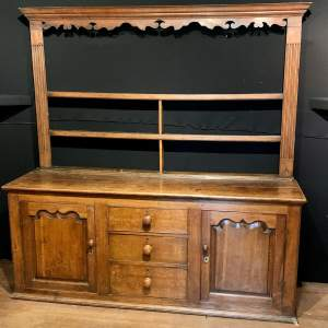 Late 18th Century English Oak Dresser