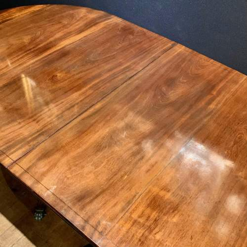 Edwardian Mahogany Two Part Dining Table image-2