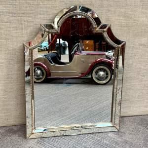 Vintage Hollywood Regency Wall Mirror