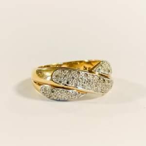 Vintage 9ct Gold 0.4ct Diamond Ring