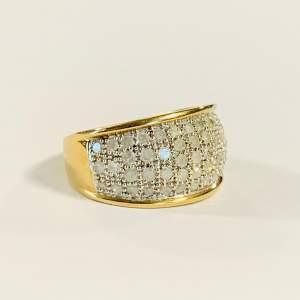 Vintage 9ct Gold 1ct Diamond Ring