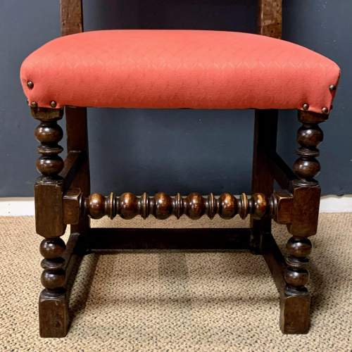 Early 18th Century Harlequin Set of Nine Oak Dining Chairs image-6