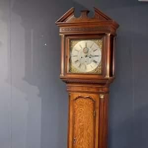 Fine 18th Century Oak Longcase Clock by Barlow of Ashton
