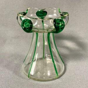 Art Nouveau Stuart and Sons Stourbridge Glass Vase