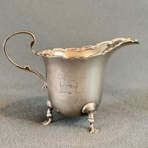 Early 20th Century Silver Cream Jug