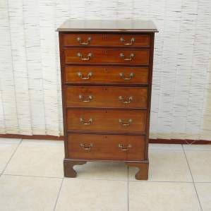 Edwardian Mahogany Cabinet of Drawers