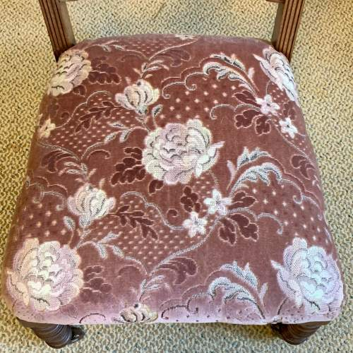 Victorian Upholstered Nursing Chair image-5