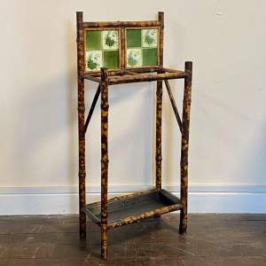 Late 19th Century Bamboo Stick Stand