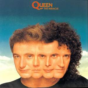 Queen The Miracle Half Speed Coloured Blue Green Vinyl