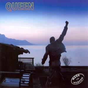 Queen  Made in Heaven Half Speed Blue and Clear Vinyl 2LP Set