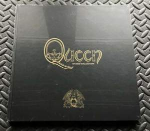 Queen Complete Studio Collection The Book