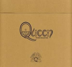 The Queen Studio Collection- 15 Studio Albums  -Hardback Book Box