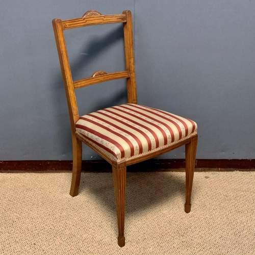 Pair of Edwardian Mahogany Side Chairs image-2