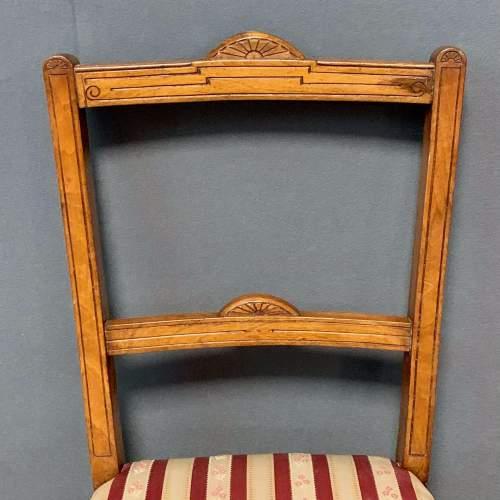 Pair of Edwardian Mahogany Side Chairs image-3