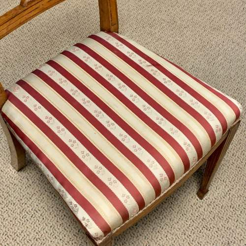 Pair of Edwardian Mahogany Side Chairs image-4