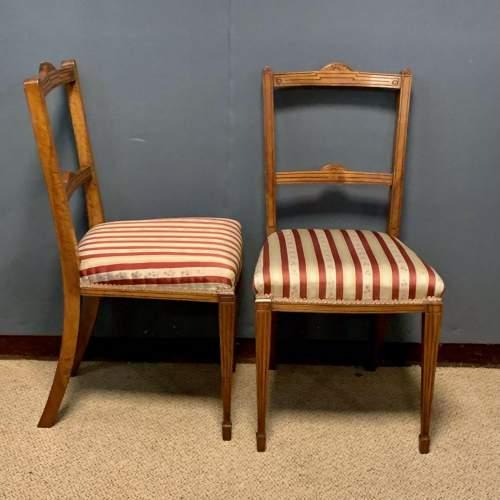 Pair of Edwardian Mahogany Side Chairs image-6
