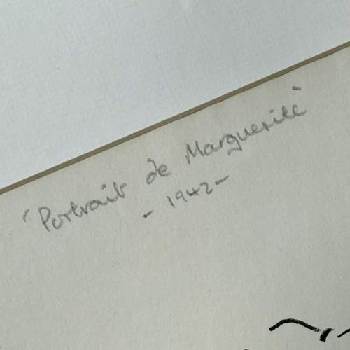 Henri Matisse Signed Print - Portrait De Marguerite image-3