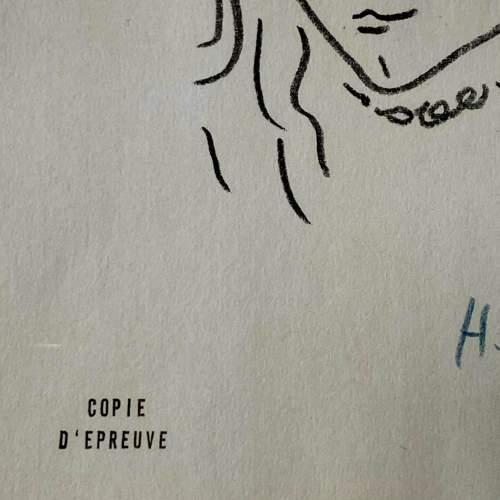 Henri Matisse Signed Print - Portrait De Marguerite image-5