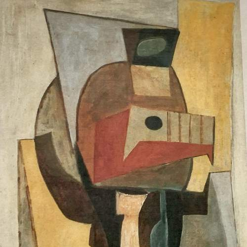 Pablo Picasso Print Entitled Still Life on a Pedestal Table image-5