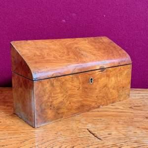 Victorian Walnut Correspondence Box