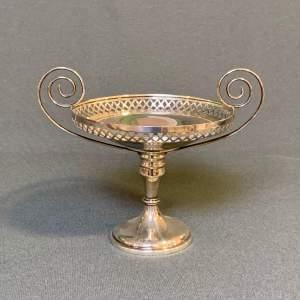 Early 20th Century Silver Bon Bon Dish