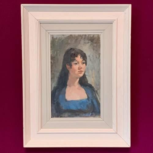 Oil on Board Portrait of a Girl by Gordon Radford image-1