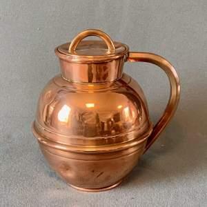 Guernsey Four Pint Copper Measure