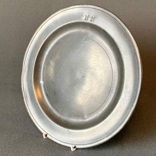 Small Pewter Plate image-2