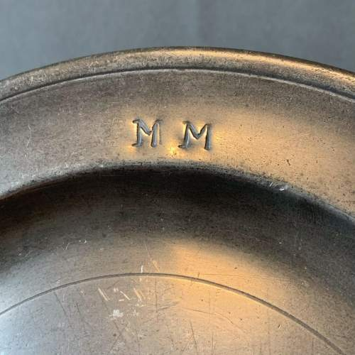 Small Pewter Plate image-3