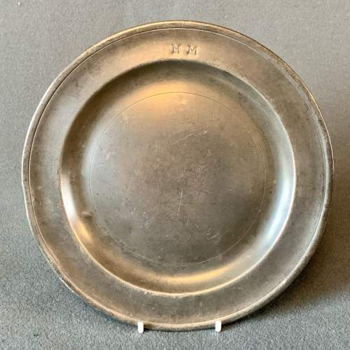 Small Pewter Plate image-1