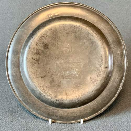 Small Pewter Plate image-5