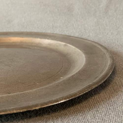 Small Pewter Plate image-4