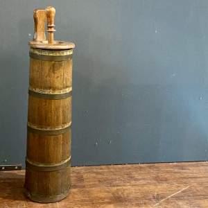 19th Century Swedish Wooden Butter Churn