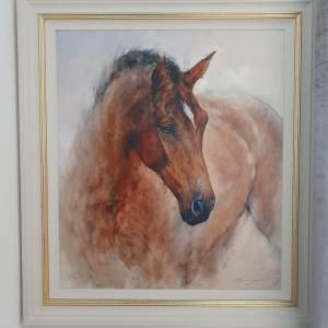 Gary Benfield Limited Edition Print titled Patience with certificate