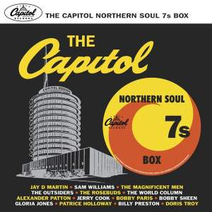 Various – The Capitol Northern Soul 7s Box Vinyl 7in Box