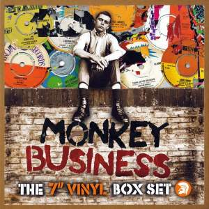 Trojan Various Monkey Business 10 x 7in Reggae Boxed  Collection
